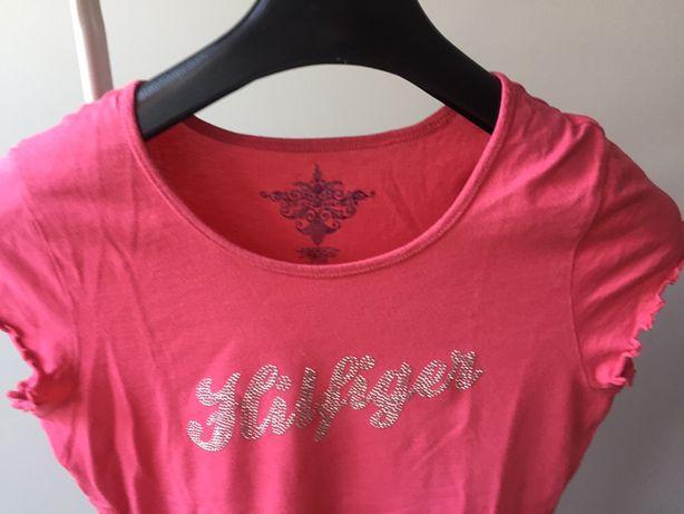 Tommy Hilfilger koszulka t-shirt różowa M
