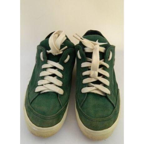 Кроссовки Nike, детские, на мальчика, зеленые, р. 38,5 ( 24,5 см)