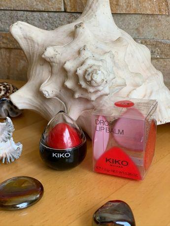 Цветной увлажняющий бальзам для губ KIKO DROP LIP BALM 03 cherry juice