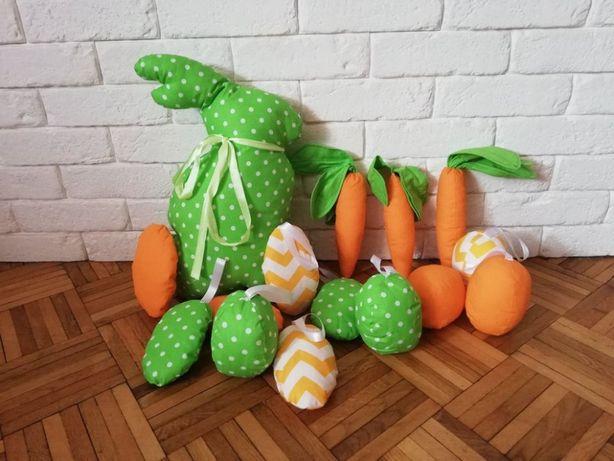 Ozdoby Świąteczne, Wielkanoc, zając, jajka.