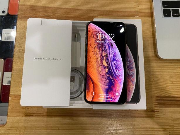 iPhone Xs 64gb Gold Айфон Хс 64гб золотой. ГАРАНТИЯ! Идеальное состоян