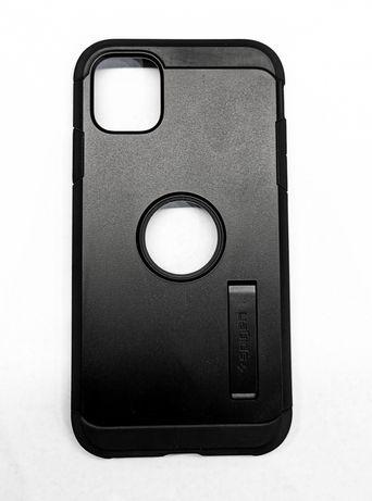 Case Etui Spigen iPhone 11 Tough Armor Black