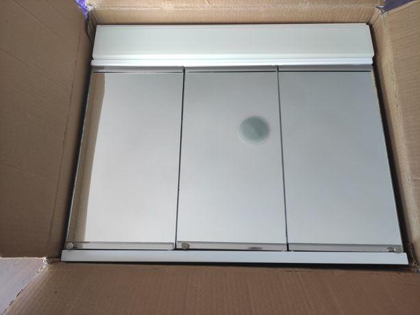 Armário com espelho WC c/luz