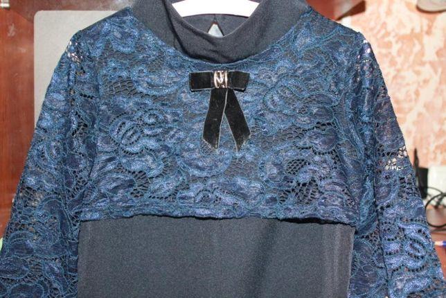 Красивое школьное платье на рост 116-125