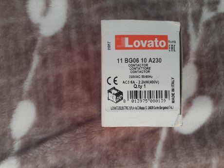 Магнитный пускатель Lovato 11 BG06 10 A 230 на 2.2кВт (6А)