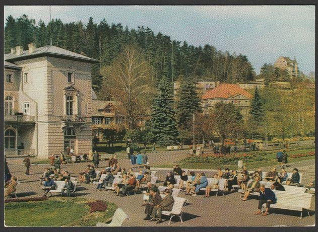 pocztówka - Krynica 1971 - deptak