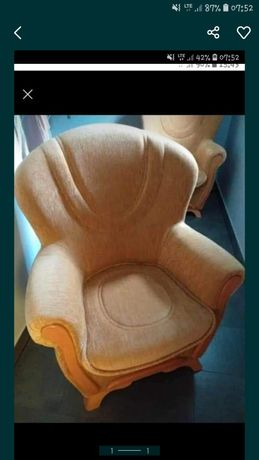 Duże fotele jak nowe