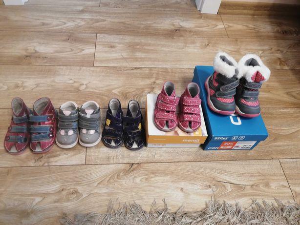 Buty dla dziewczynki rozmiar 19-20
