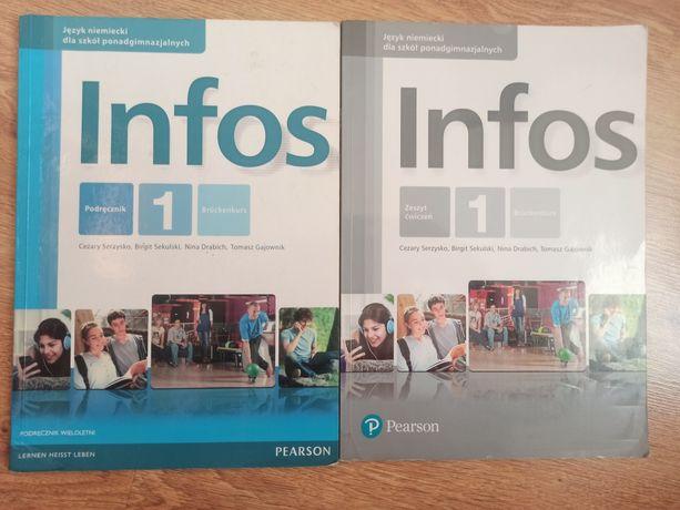 Infos 1 podręcznik+Ćwiczenia. Zakres podstawowy.