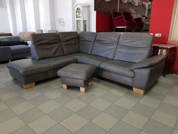 Кожаный угловой диван кожаная мебель кожаный диван Германия