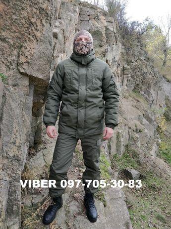 Зимняя форма охранника для охраны камуфляж зимний костюм одежда военка
