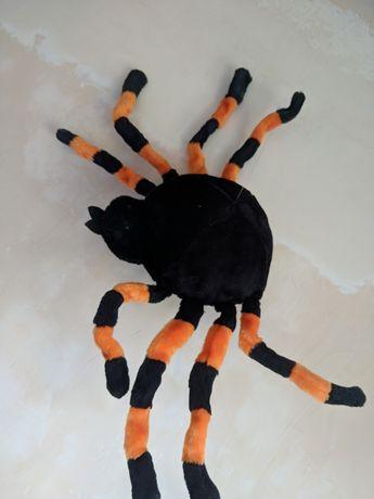 Огромный паук музыкальный Хэллоуин Halloween тарантул