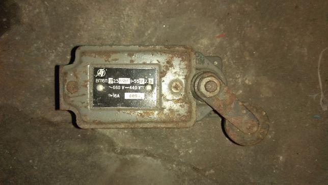 Концевик, концевой выключатель ВП16П из СССР