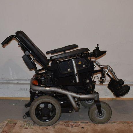 Wózek inwalidzki elektryczny F55 Quickie z windą