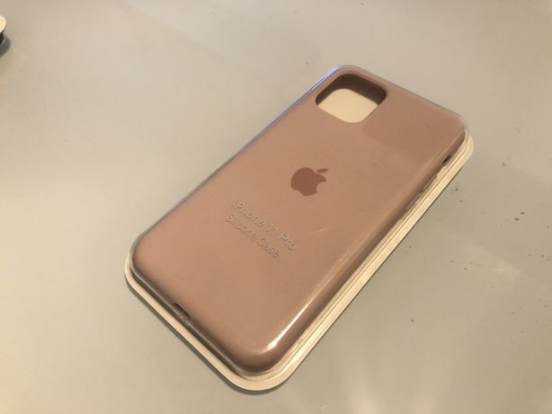 Capa iPhone 11 Pro - Silicone - Sand Pink