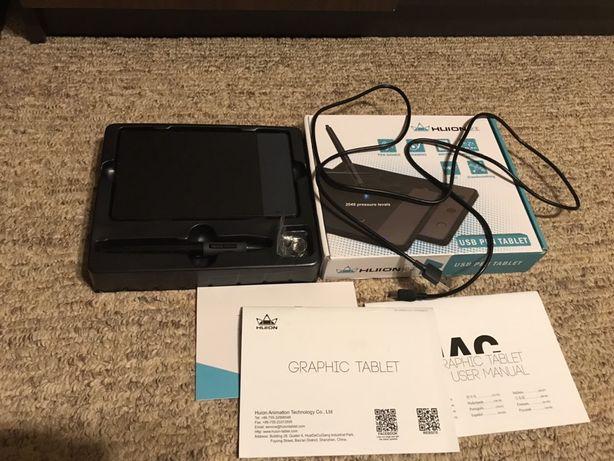 Графический планшет Huion 420 комплект как новый