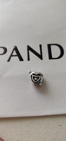 Charms do bransoletek Pandora serce serduszko ze strzałą