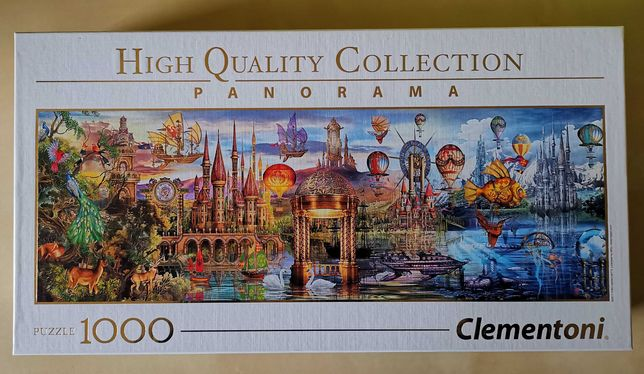 Puzzle Clementoni Fanrastyczna Panorama 1000 elementów