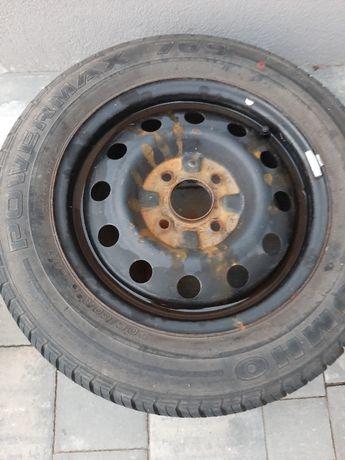 Koło felga stalowa z oponą 205/60/R15 zapas