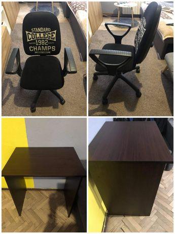 Biurko wraz z krzesłem dla dziecka