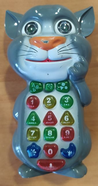 """Игрушка - телефон интерактивный """"Кот Том"""""""