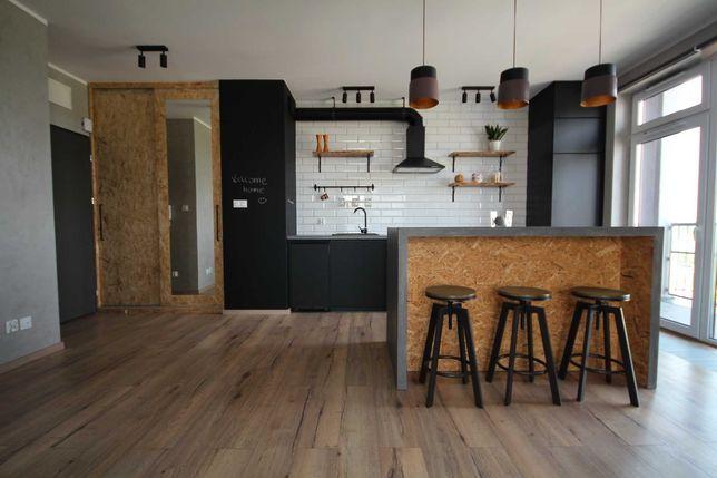 nowy loftowy apartament 2 pokojowy z tarasem na Chrobrego