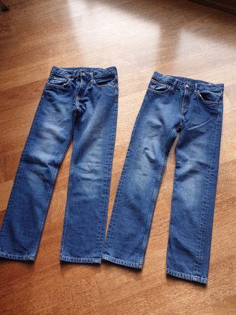 Dżinsy  H&M rozmiar 128 jak nowe dla bliźniakow, bliźniąt