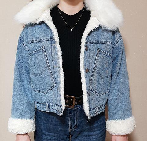 Джинсовая демисезонная курточка