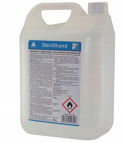 Płyn do dezynfekcji rąk i skóry sterillhand 5L x10 HURT 550zł