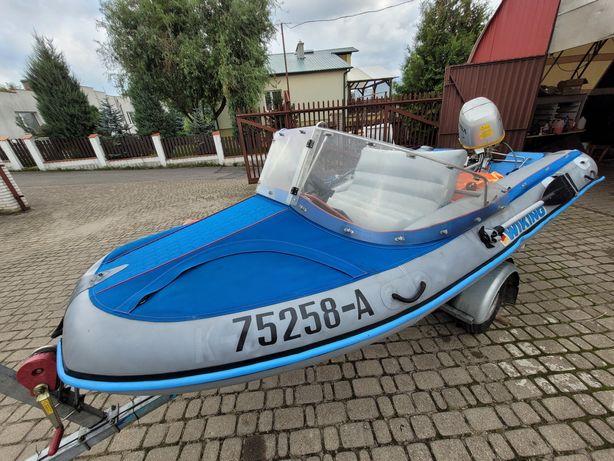 Łódź pontonowa Viking 350 HONDA BF30