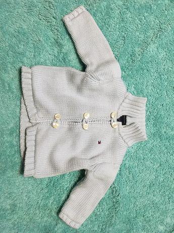Tommy Hilfiger - Sweter 3-6M dziecko, chłopiec