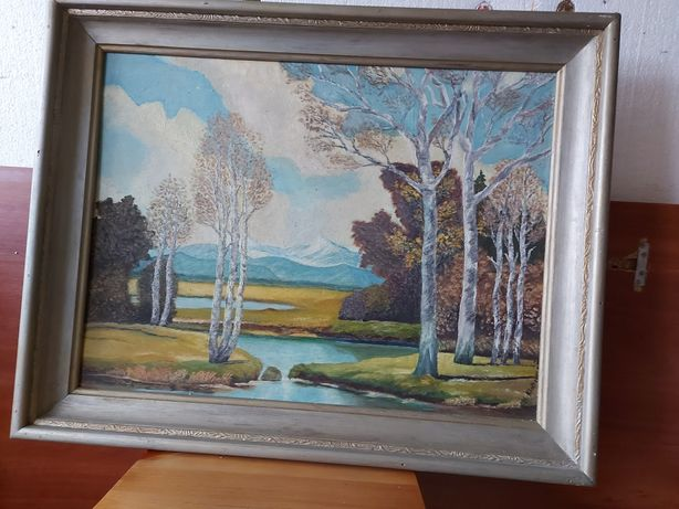 Obraz ręcznie malowane Antyk