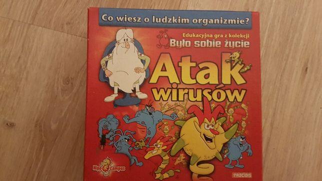 Atak wirusów - Gra quizowa - Było sobie życie