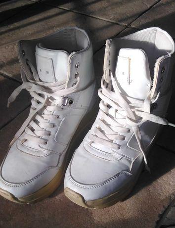 Buty białe r. 37