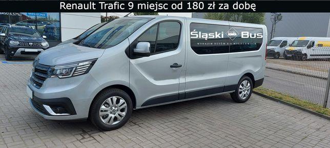 Wynajem BUSA - 9 Osób - Nowy Renault Trafic ! Jedź gdzie chcesz !