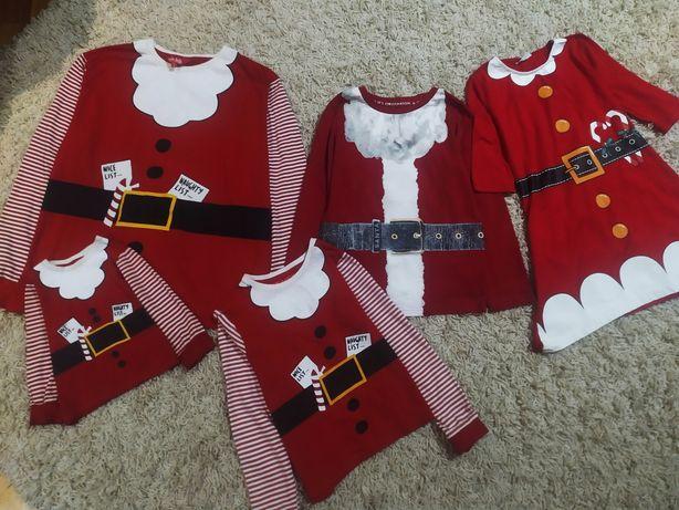 Новогодняя, кофта, свитер, сведр, новорічна, красная, фемелі лук