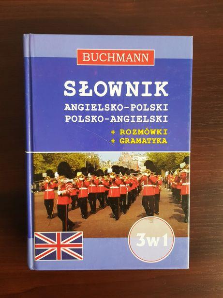 Słownik angielsko-polski, polsko- angielski z rozmówkami I gramatyką