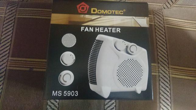 Тепло вентилятор обігрівач калорифер дуйка 2кВт Domotec