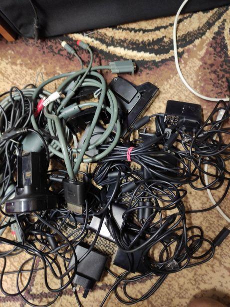 !Akcesoria XBOX 360 Kable,ładowarki,zasilacze itp!