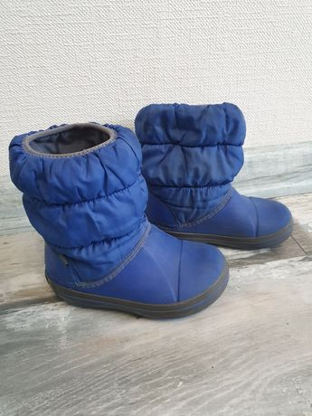 Crocs зимние сапоги