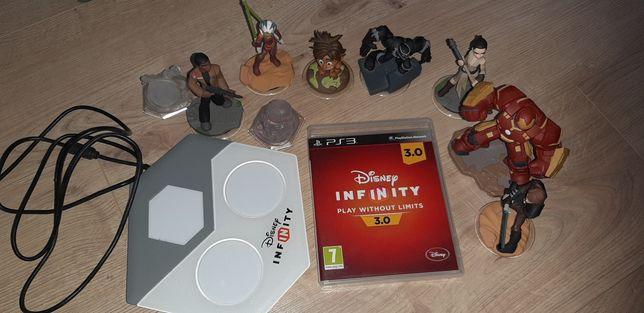 Zestaw Infinity 3,0 PS3 portal ,figurki,plyta