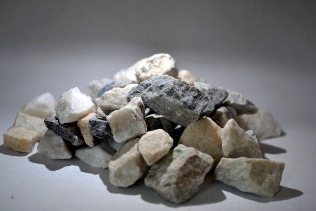 Grys pastelowy 8-16 mm . Ogród, otoczak, kamień, głazy kora transport.