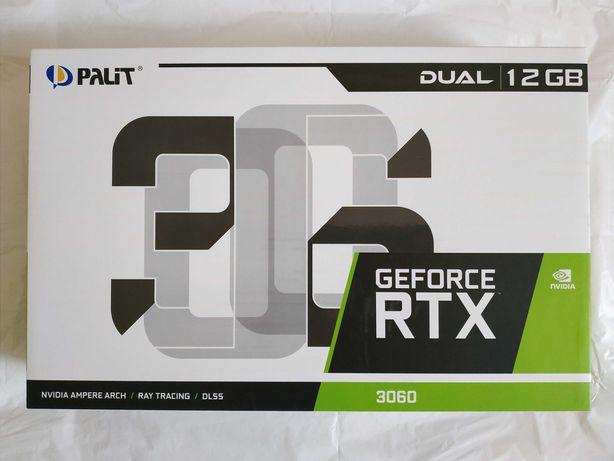 Palit GeForce RTX 3060 Dual LHR 12GB гарантия 24 мес