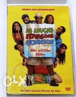 DVD As Loucas Férias dos Johnsons