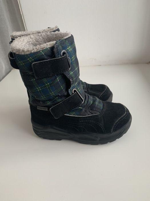 Зимние ботинки puma 26р. Вишневое - изображение 1