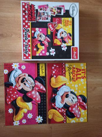 Puzzle Myszka Minnie 55 i 75 elementów