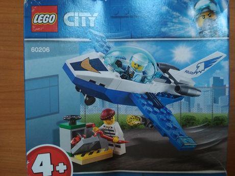 Конструктор LEGO CITY Воздушная полиция: патрульный самолет  LEGO