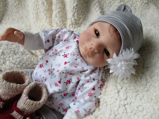 Bebe Reborn em silicone - Inês