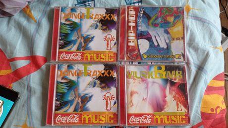 Музыкальные диски кока-кола (coca-cola) цена указана за один