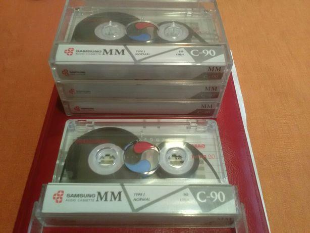 Аудиокассеты Akai, Samsung,Fuji,SNC ,normal & chrome.